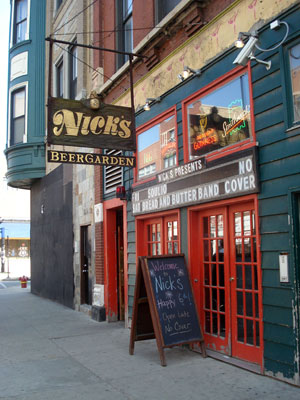 nicks beer garden wicker park bars chicago il